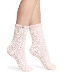 women's ugg australia chenille crew socks, size one size - pink