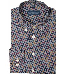 gcm overhemd met print regular fit 5338/480