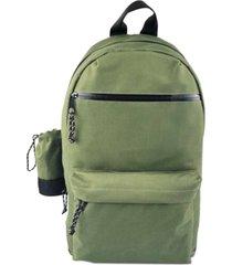 steve madden men's backpack with detachable water bottle holder