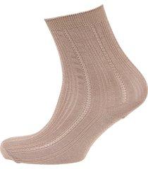 glitter drake sock lingerie socks regular socks beige becksöndergaard