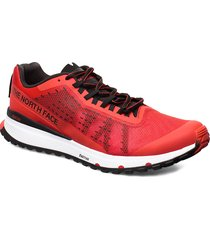 m ultra swift shoes sport shoes running shoes röd the north face