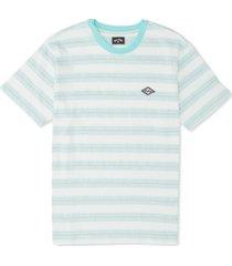 billabong men's combers logo stripe graphic t-shirt