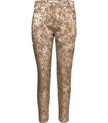 jolie 573 split rechte jeans beige fiveunits
