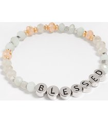 maurices womens blessed stretch bracelet beige