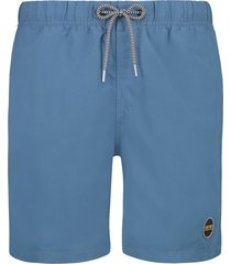 shiwi heren zwembroek solid mike yacht blue blauw