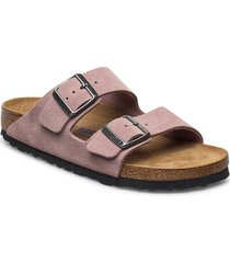 arizona soft footbed shoes summer shoes flat sandals lila birkenstock