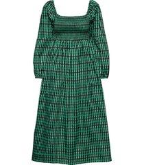 aquina knälång klänning grön baum und pferdgarten