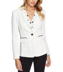 1.state contrast-trim blazer