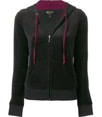 gothic velour robertson jacket