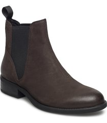 cary shoes boots ankle boots ankle boots flat heel brun vagabond
