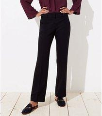 loft trousers in doubleweave in curvy fit