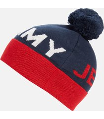 tommy jeans women's seasonal lurex beanie - corporate