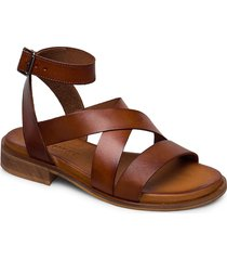 joana shoes summer shoes flat sandals brun pavement