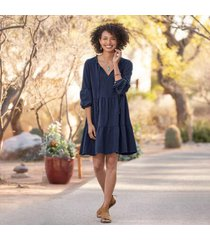 sundance catalog women's lantern path dress in carbon small