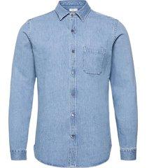 mens shirt skjorta casual blå closed