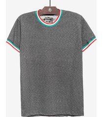 t-shirt hermoso compadre casual cinza - cinza - masculino - dafiti