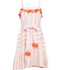 rowan tassel a-line dress