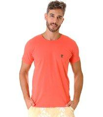 camiseta opera rock t-shirt coral - coral - masculino - algodã£o - dafiti