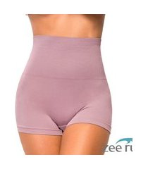 cinta boxer modeladora sem costura roxa honey be ca121 roxo