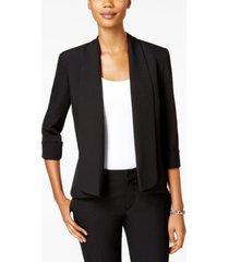 kasper open-front soft blazer