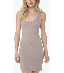 long skinny tank dress