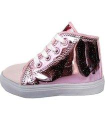 zapatilla rosa supercompras botita puntera