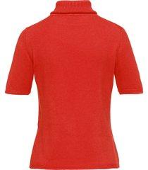 coltrui model rebecca van 100% kasjmier, topkwalit van peter hahn cashmere oranje