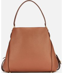 coach women's polished pebble leather edie 31 shoulder bag - 1941 saddle