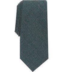 alfani men's slim textured tie, created for macy's