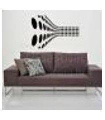 adesivo de parede decorativo ilusão de optica - eg 100x145cm