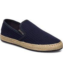 raffiaville espadrille sandaletter expadrilles låga blå gant