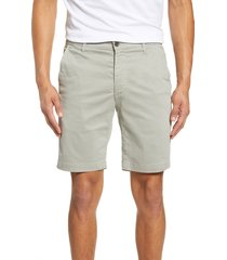men's ag wanderer modern slim fit shorts, size 38 - metallic