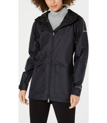 columbia arcadia omni-tech water-repellent hooded jacket