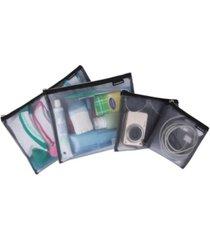 travelon mesh pouches, set of 4