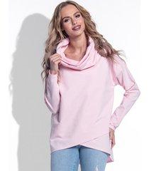 bluza z golfem pinkpowder