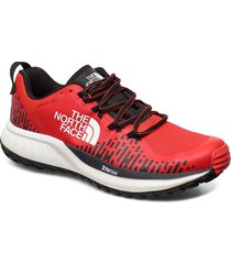 m ultra endur xf fl shoes sport shoes running shoes röd the north face