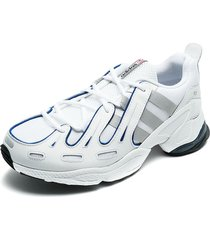 tenis blanco-azul adidas originals eqt gazelle