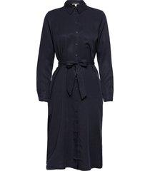 dresses light woven dresses shirt dresses blå esprit casual