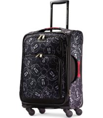 "american tourister mickey mouse multi-face 21"" softside carry-on spinner"