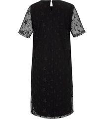 jurk van emilia lay zwart