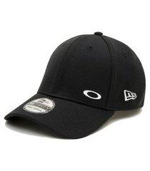 boné oakley tinfoil cap 2.0 new era preto