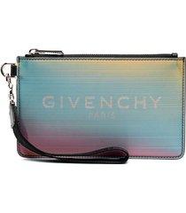 givenchy mini gradient pouch - blue