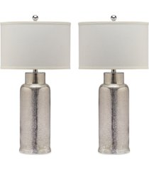 safavieh set of 2 bottle glass table lamps