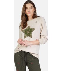 noleta bandana star - l light sand