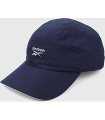 gorra azul-blanco reebok one series running