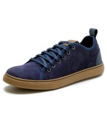 sapatênis casual masculino mr shoes marinho