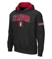 colosseum stanford cardinal men's big logo hoodie