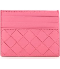 bottega veneta unisex woven card holder 15