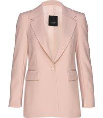 3596 - keiko single blazer colbert roze sand