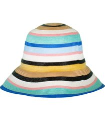multi color striped hat